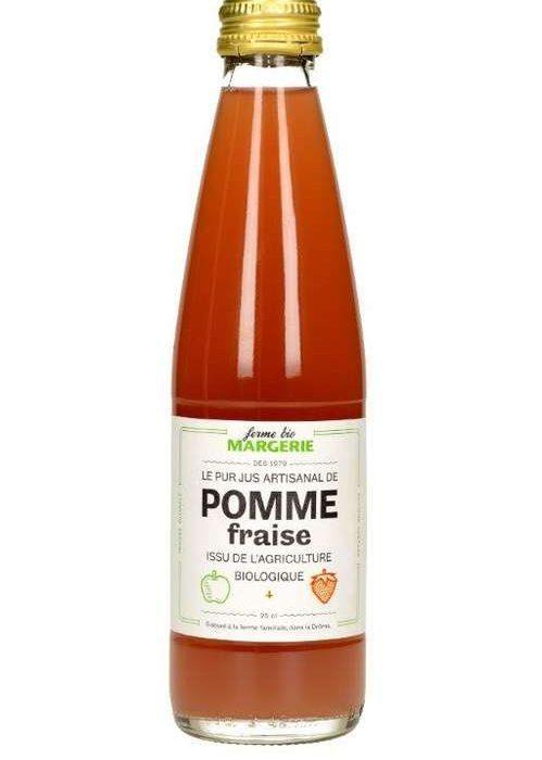 Ici-etlà Ferme-Margerie-pomme-fraise-25cl